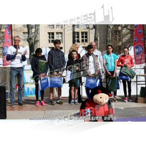 marathon-de-montpellier-2016 / podiums-enfants
